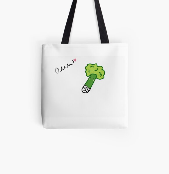 Baby Broccoli  All Over Print Tote Bag