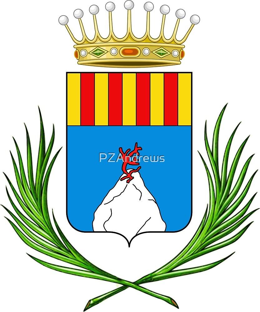Coat of Arms of Alghero, Sardinia by PZAndrews