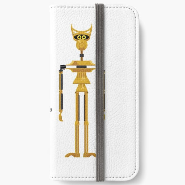 Crow T. Robot  - Golden Spider Duck iPhone Wallet