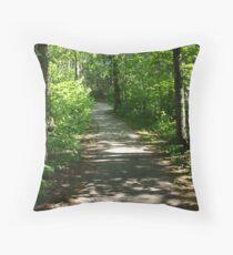 nice path Throw Pillow