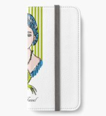 The jewel, woman face with cat iPhone Wallet/Case/Skin