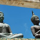 buddhist statues by steveault
