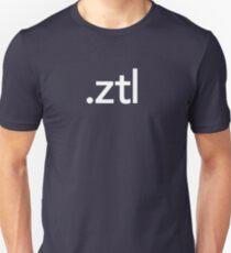ZBrush File Extension - Pixologic Unisex T-Shirt