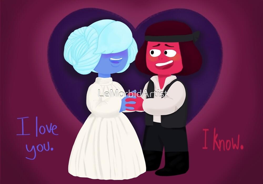I Love You, I Know  by LeMorbidArtist