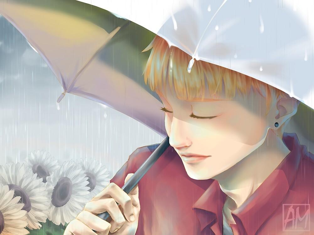 FACELESS [Rain] by AliM-ReinAkira