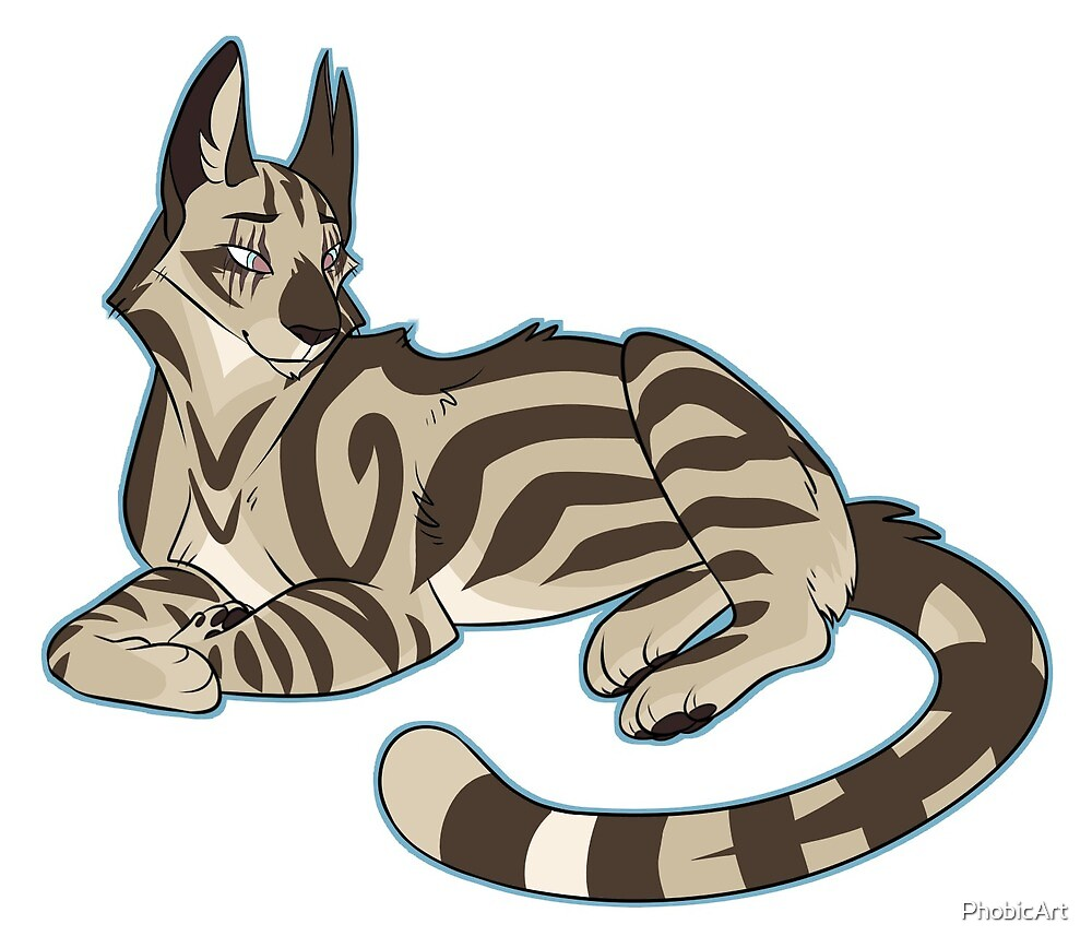Elder Longtail Sticker by PhobicArt