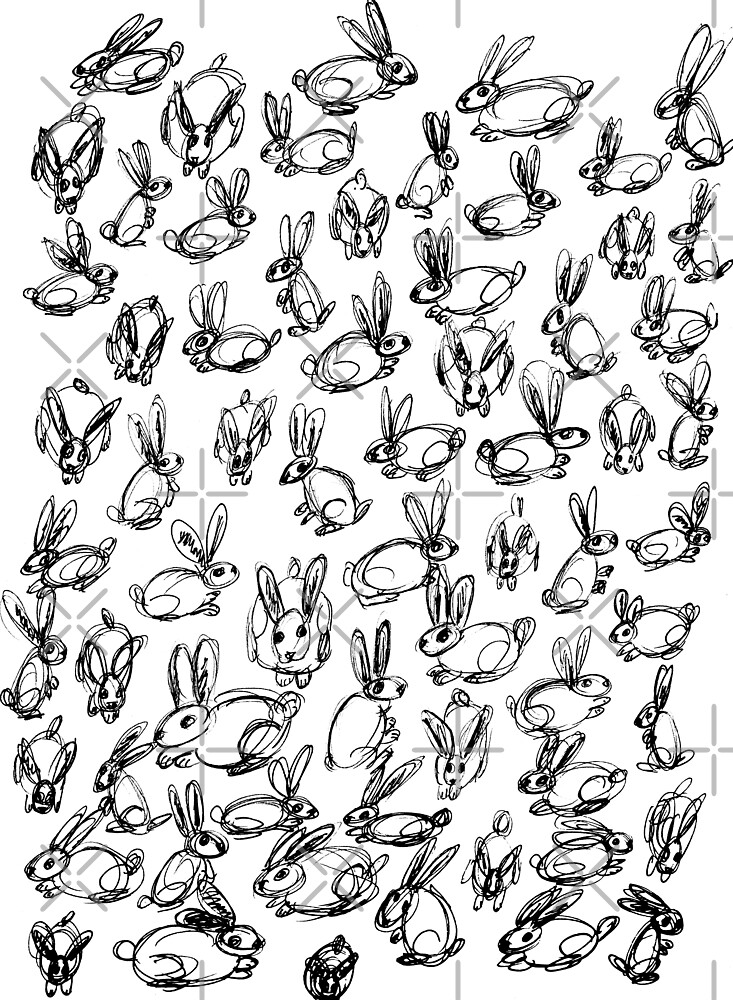 Bunnies  by RenStocker