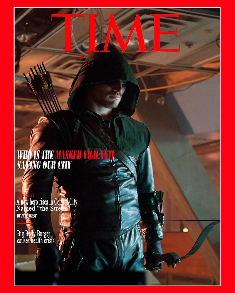 Time Magazine Arrow by MeganLako