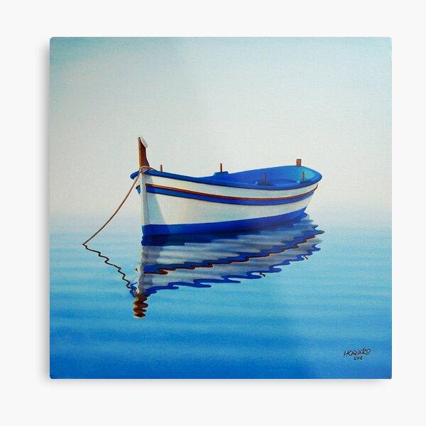 Fishing Boat 2 Metal Print