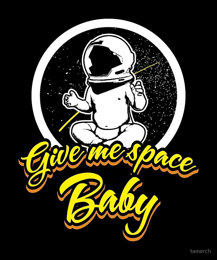 Astronaut Space Baby by tamerch