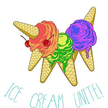 Ice Cream Unite by drixalvarez
