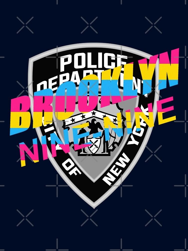 Brooklyn 99 Pan Pride Badge by SuchABadassJ