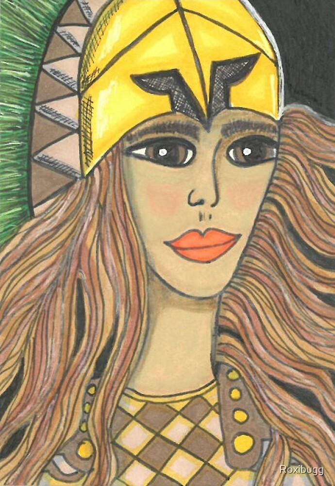Athena by Roxibugg