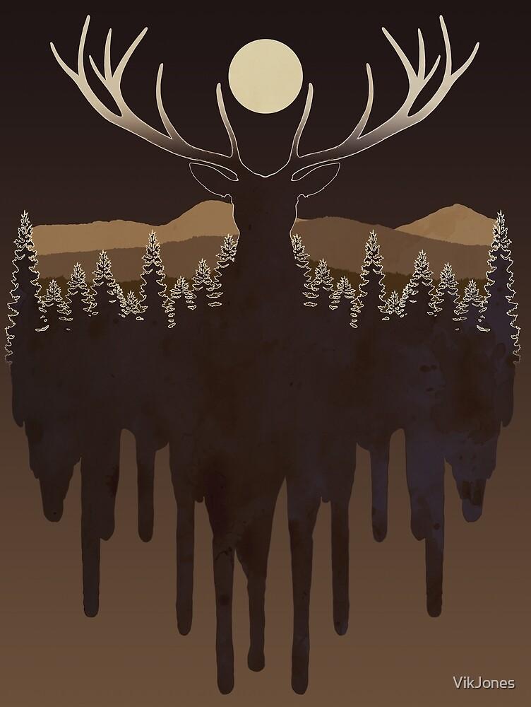 Deer by VikJones