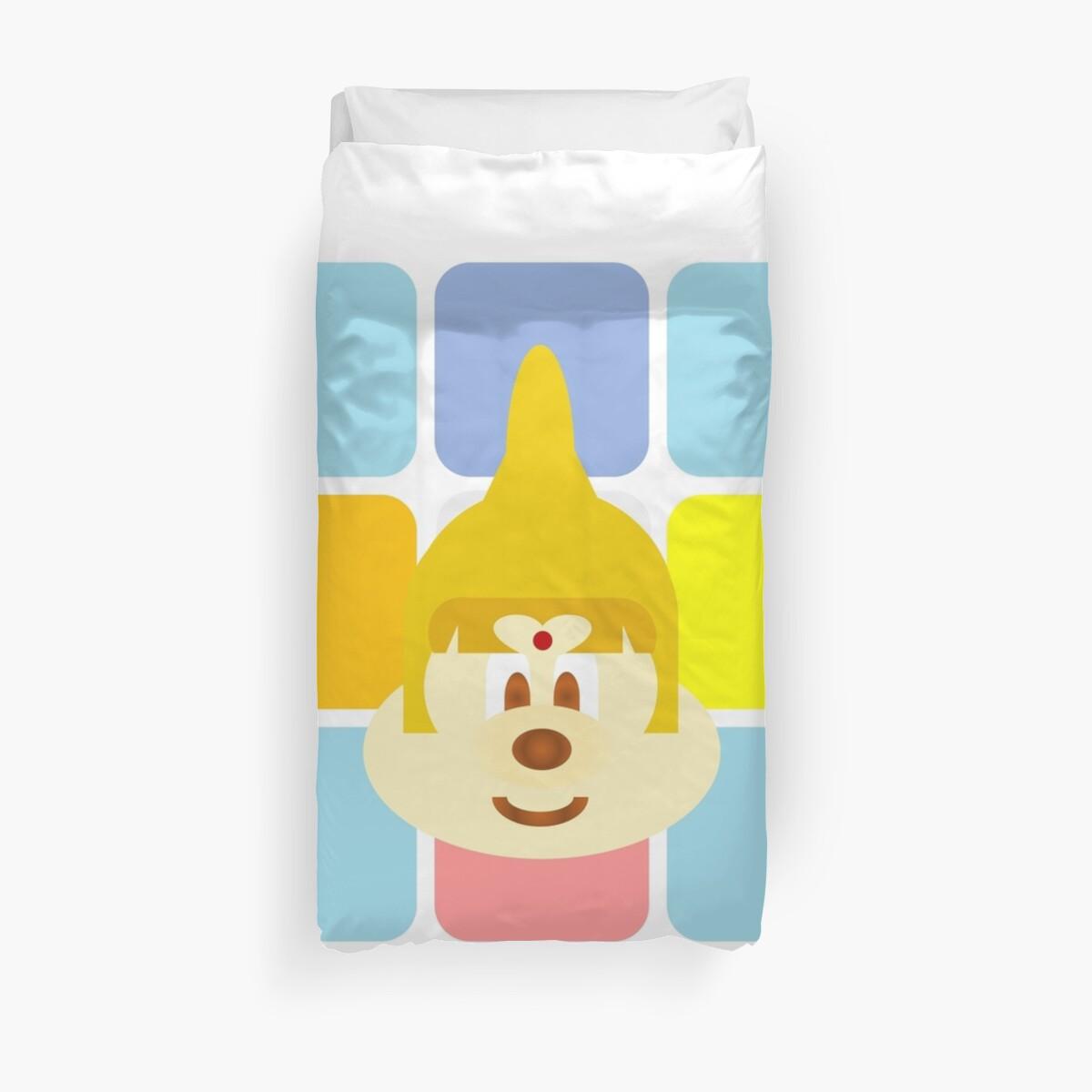 Thai 鮑 鮑 & Colorful Boxes (Twin Duvet Cover) by senysurani