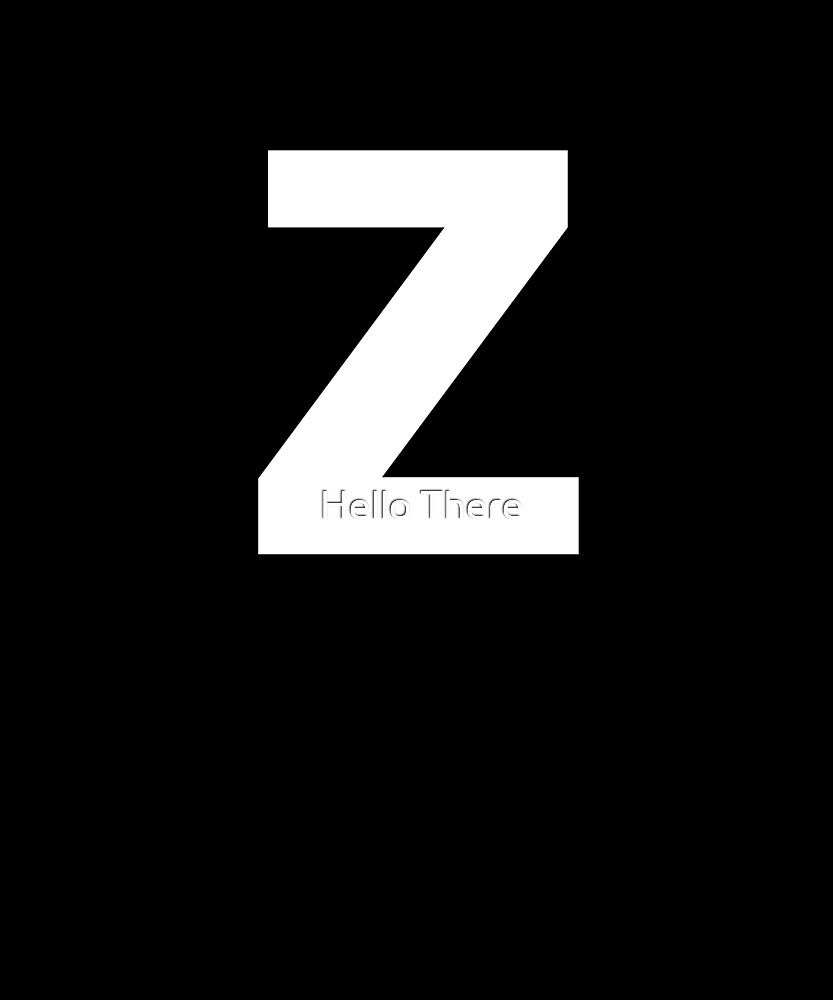 Letter Z - Simple Text by TheFamilyCrest