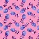 Violet Pineapples  by CatyArte