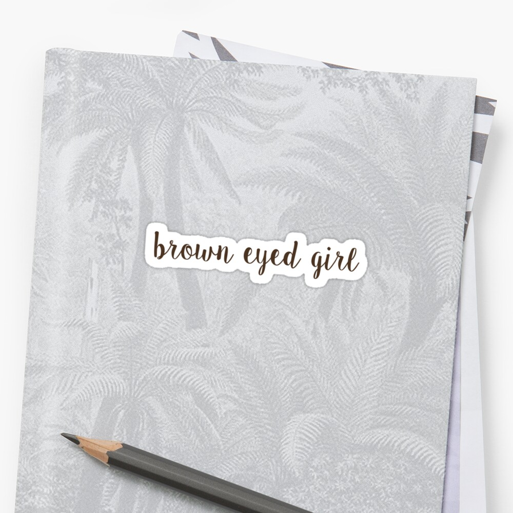 brown eyed girl by 8marge