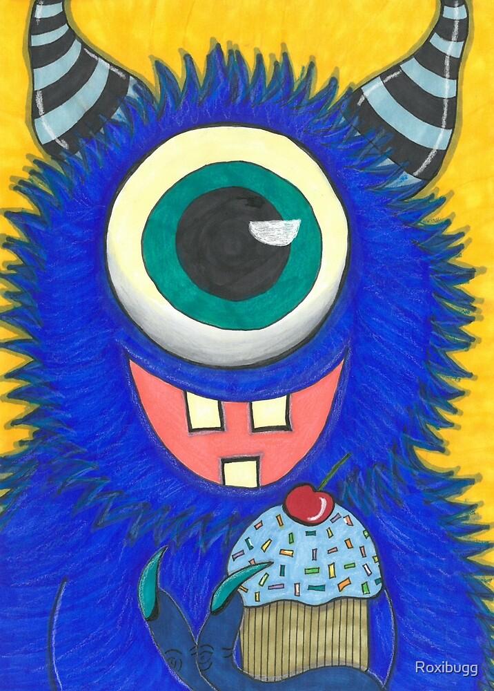 Cupcake Monster by Roxibugg