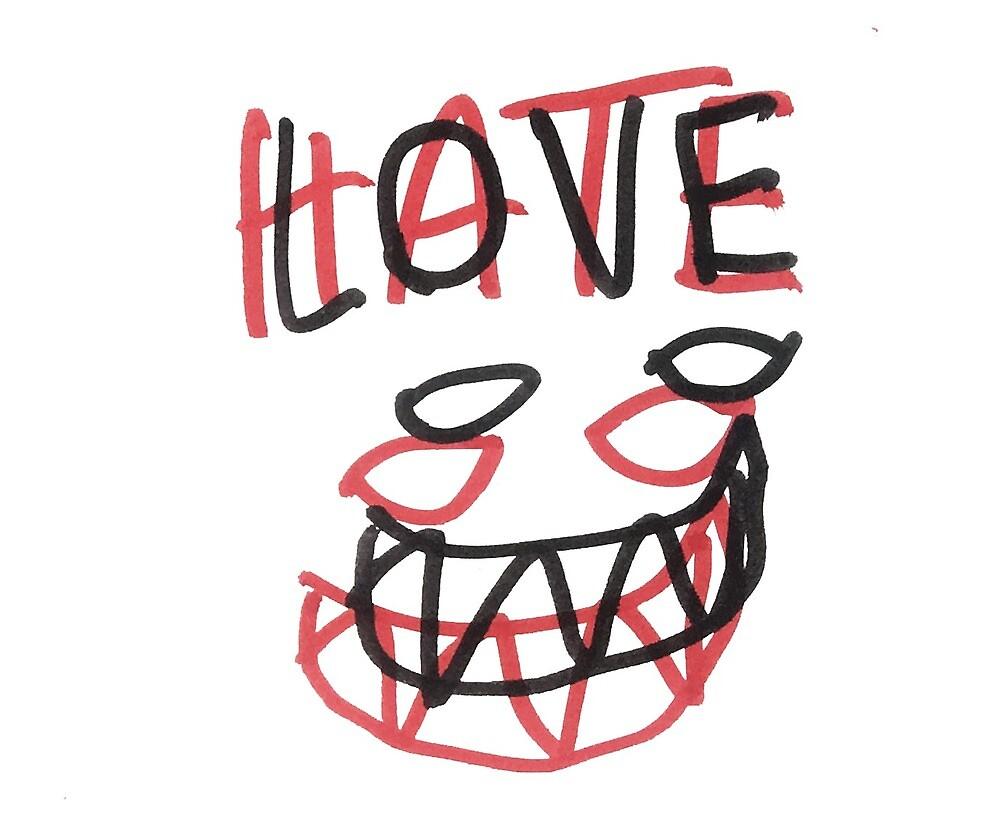 LOVE HATE by Lucas Coelho