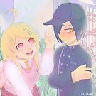 Shuichi + Kaede by eddiegrungepup