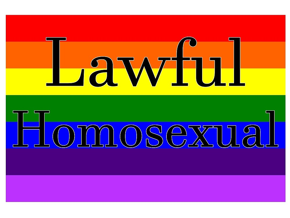 Lawful Homosexual by Popcorn7