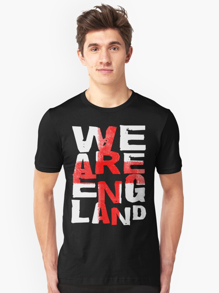 We Are England Unisex T-Shirt Front