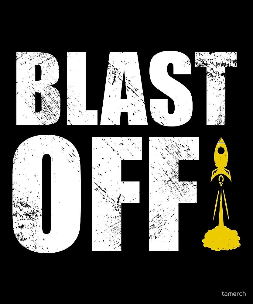 Rocket blast off by tamerch