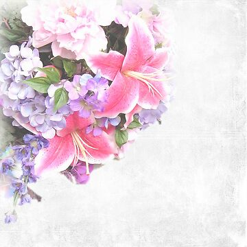 Flower,floral,double exposure,digital photo,trendy,modern by love999