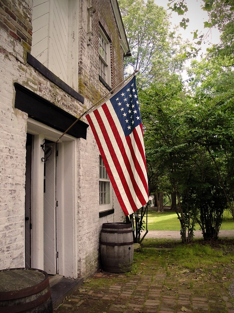 Historic Building at Allaire State Park by StampCity