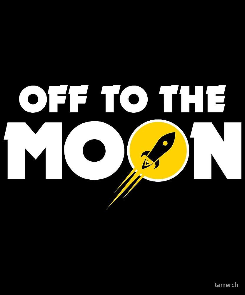 Rocket moon by tamerch
