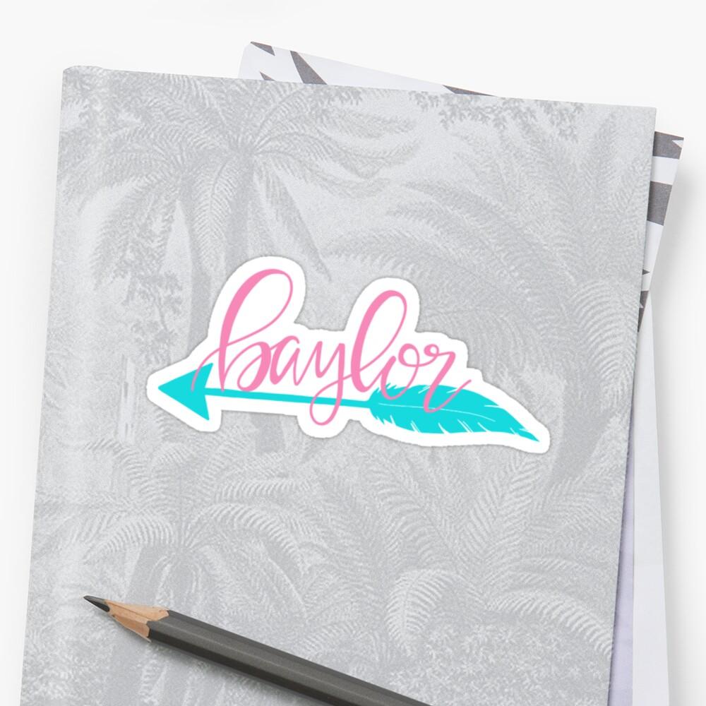 Baylor Arrow by kirstenblanton