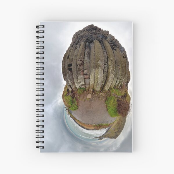 The Giant's Organ Pipes Spiral Notebook