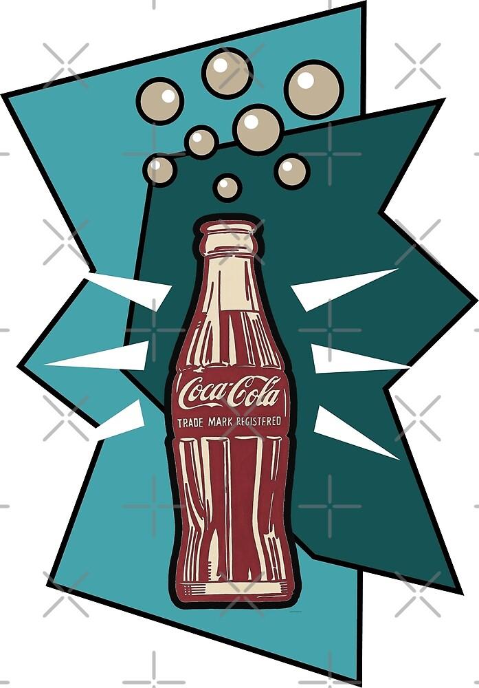 coke pop art by mavydesigns