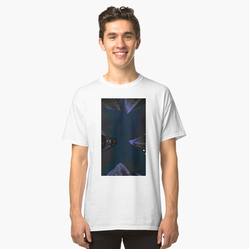 Sky in the city Classic T-Shirt Front