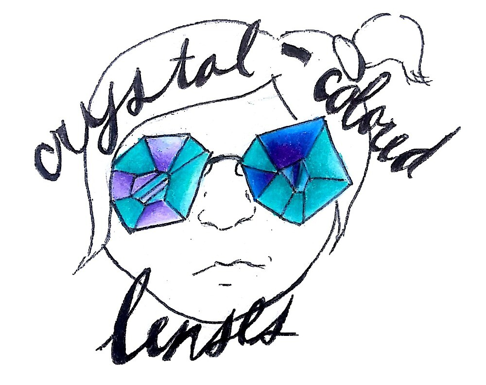 Crystal Colored Lenses  by pinnedpoint