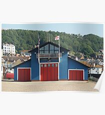 Hastings Lifeboat Station Poster