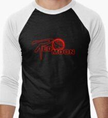 Red Moon Logo Men's Baseball ¾ T-Shirt