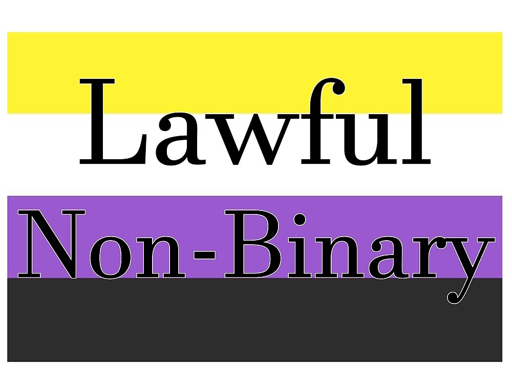 Lawful Non-Binary by Popcorn7