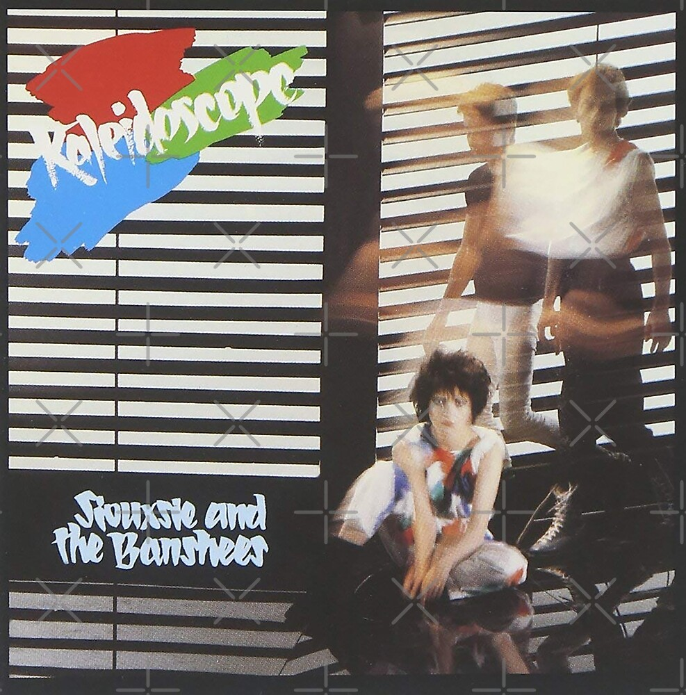 Siouxsie and the Banshees - Kaleidoscope Album Cover 1980 by litmusician