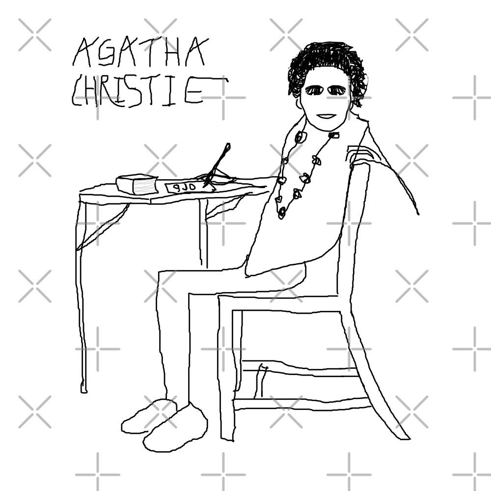 Agatha Christie by 9JD by BN18