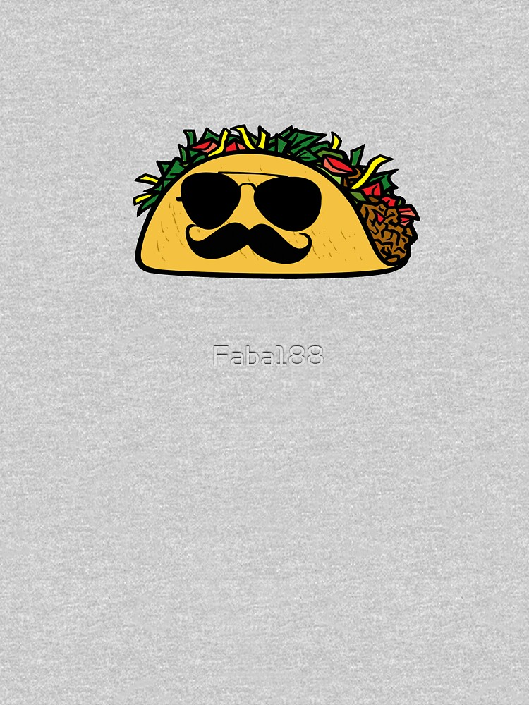 (Taco with mustache) by Faba188