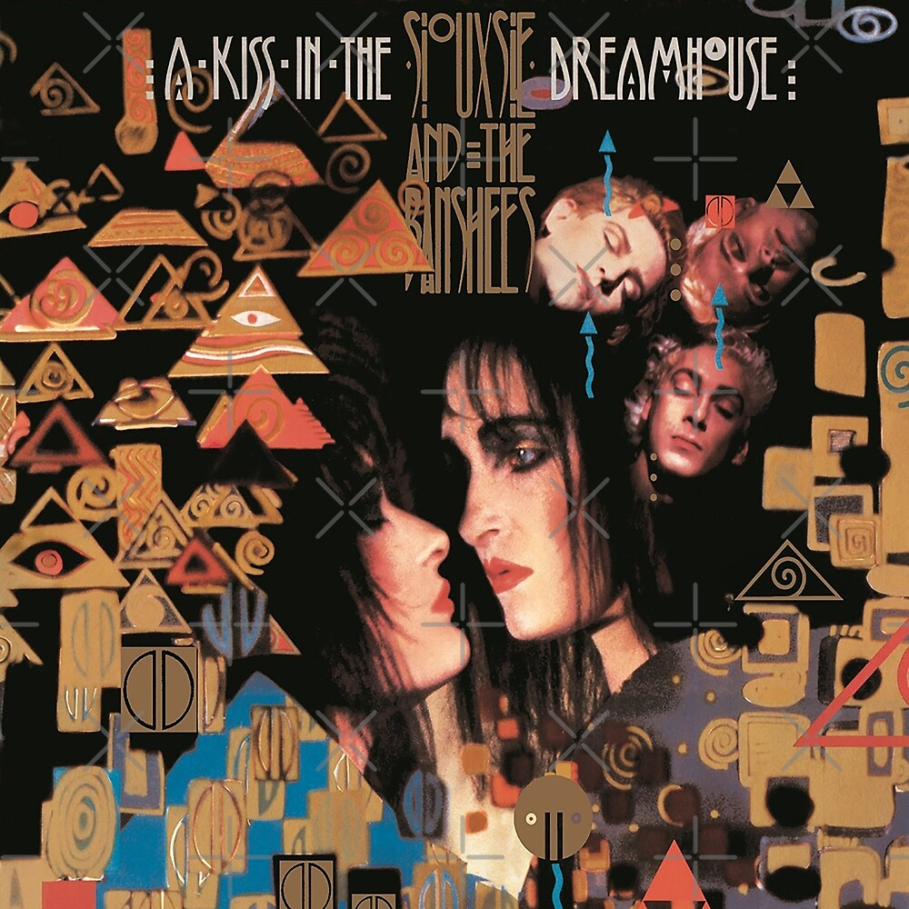 Siouxsie and the Banshees - A Kiss in the Dreamhouse Album Cover 1982 by litmusician