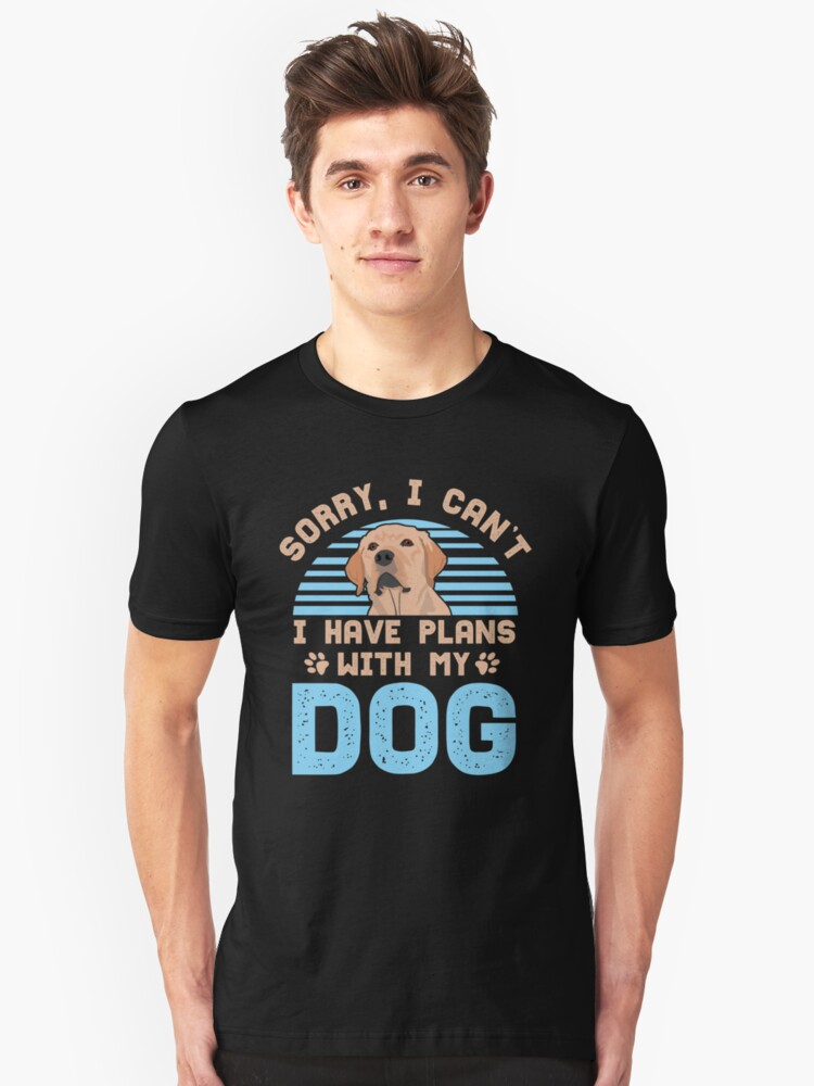 Dog dogs pet gift funny dog ​​owner animal Unisex T-Shirt Front
