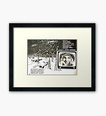 moon base Framed Print