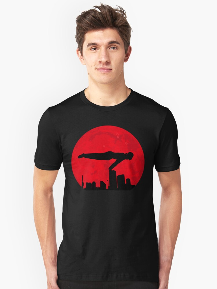 Red Moon Calisthencis Unisex T-Shirt Front