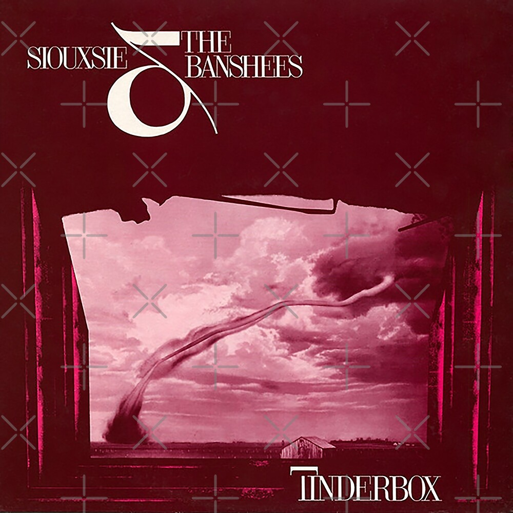 Siouxsie and the Banshees - Tinderbox Album Cover 1986 by litmusician