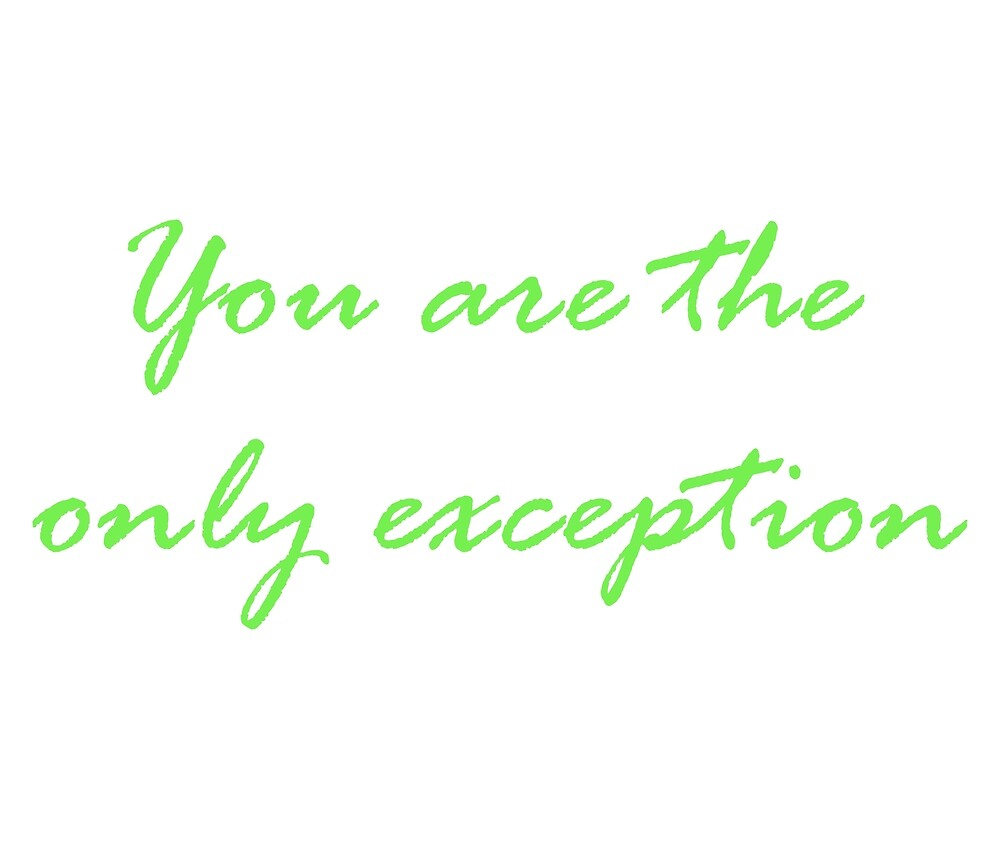 Only Exception by patsyrose94