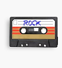 Rock and Roll music cassette Canvas Print
