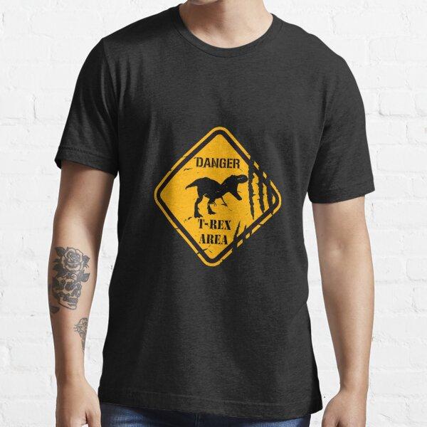 Danger T-Rex. Essential T-Shirt